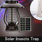 Solar Insects Trap 太陽能滅蚊燈
